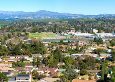 Thousand Oaks High panorama