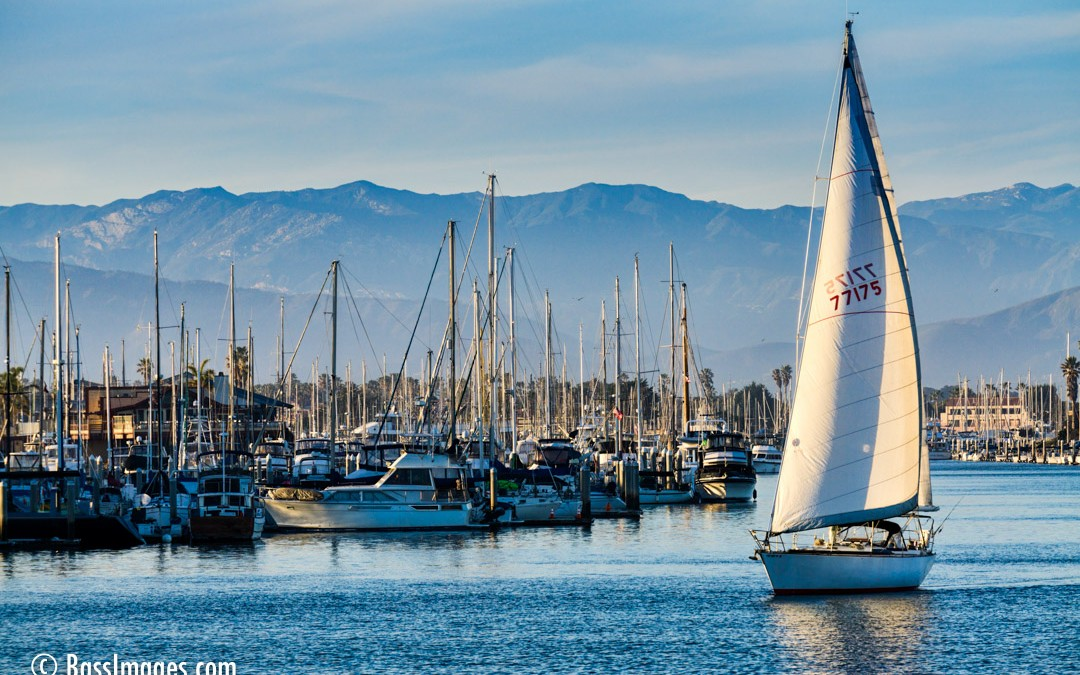 Channel Islands Harbor sailboat
