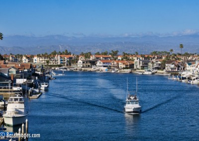Channel Islands harbor bridge view