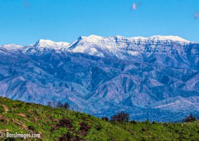 Hines Peak with snow-1