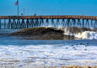Ventura Pier big wave-1